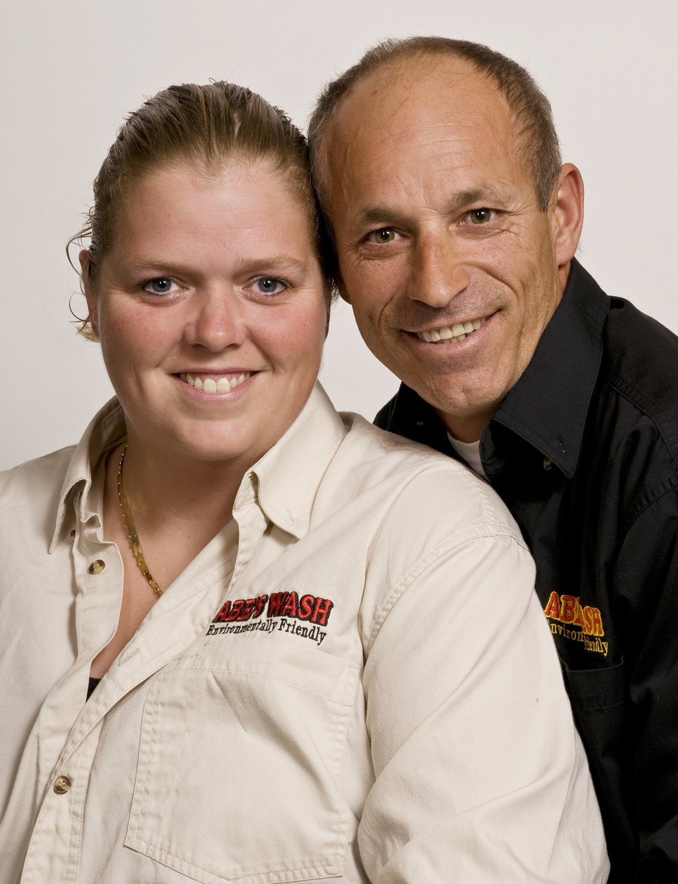 Husband & wife business portrait