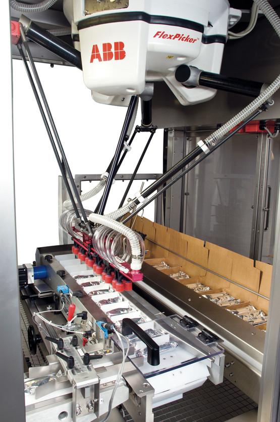 Packaging machine interior