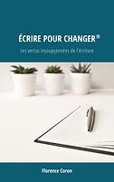 Florence Coron Livre Ecrire pour changer