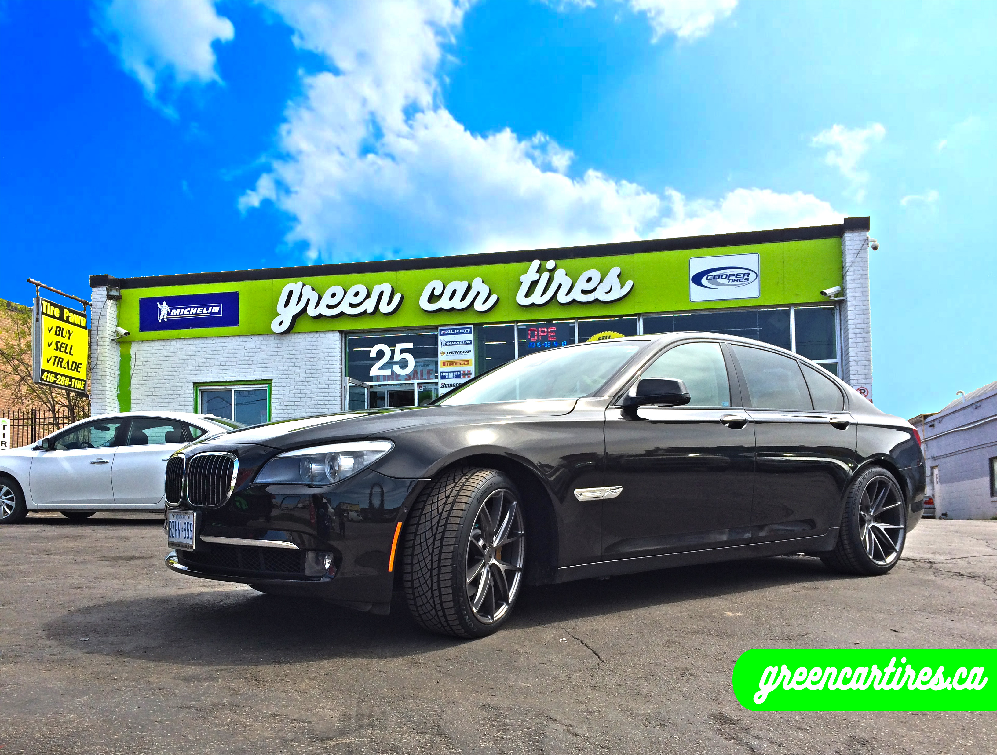 bmw 5 series on niche wheels