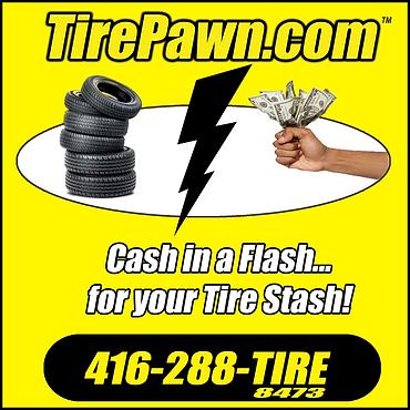 Tire Pawn Toronto Ontario, Canada.