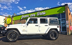 Jeep wheel package