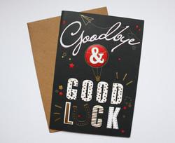 Goodbye & good luck