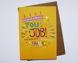 You got the job