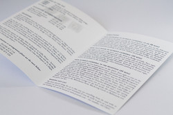 info booklet open