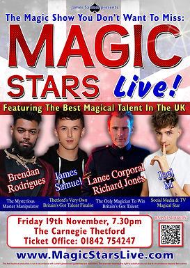 James Samuel Presents: Magic Stars Live!