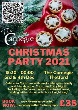 The Carnegie Christmas Party