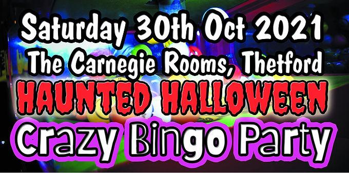 Haunted Halloween Crazy Bingo Party