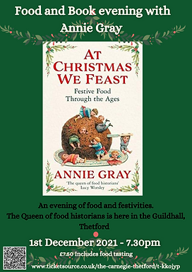 At Christmas We Feast - Book & Food Event