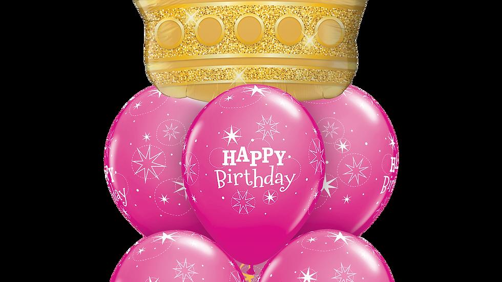 Birthday Golden crown luxury.