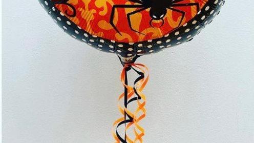 Halloween foil balloon & Treat bag