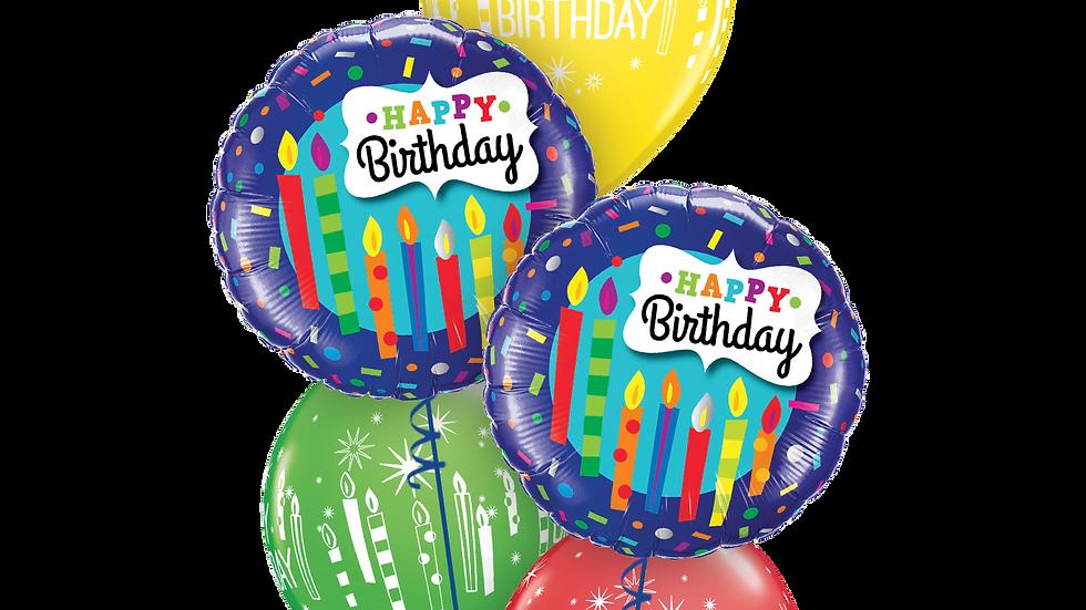 Birthday Candles & Confetti classic.