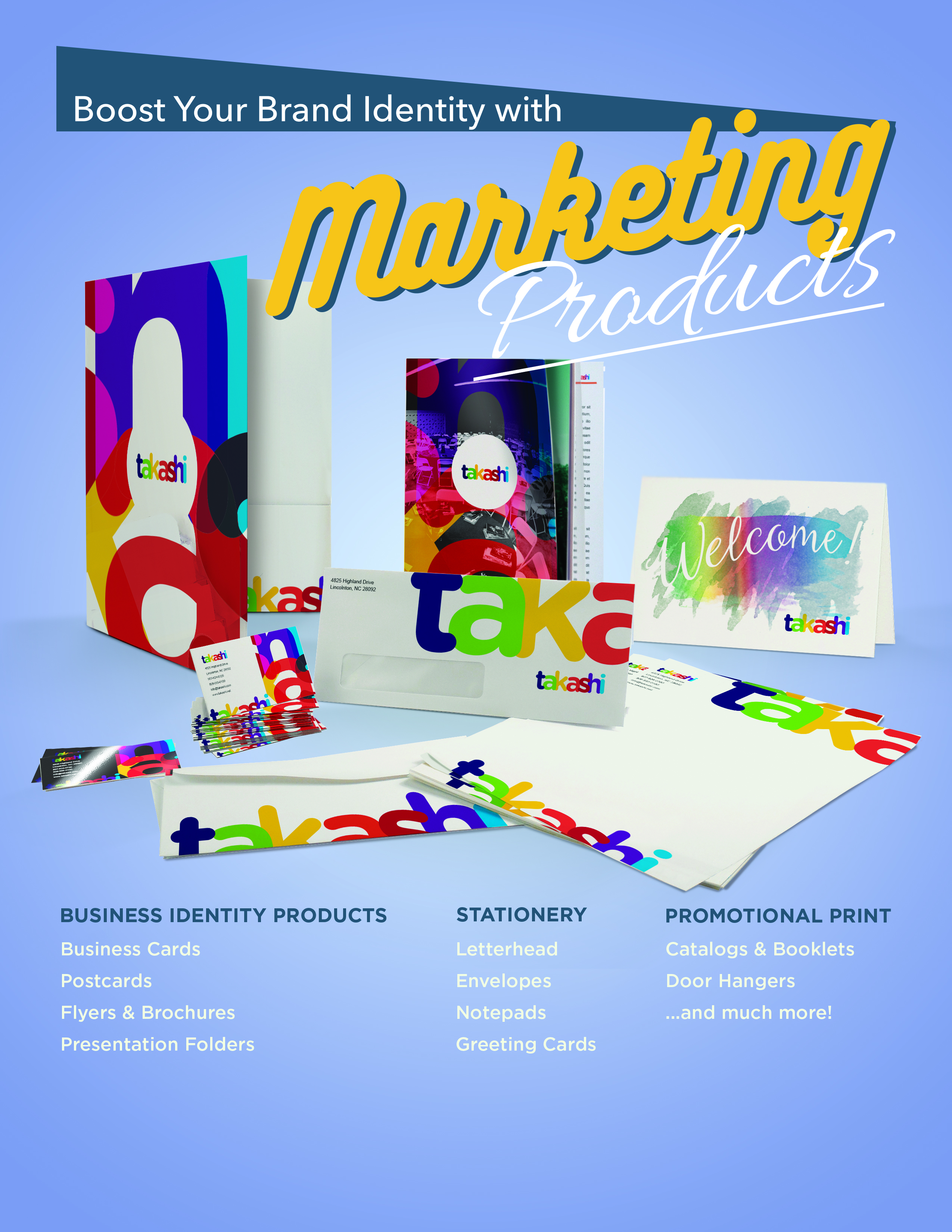 Marketing Products
