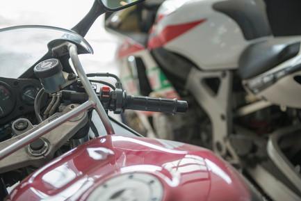 Motorrad, PKW und Wohnmobil