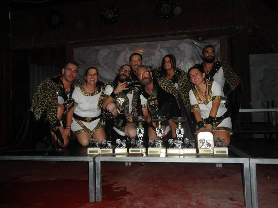 Recogida trofeos deportivos año XXV