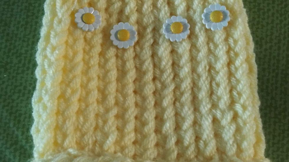 Daisy Premature baby warm cap