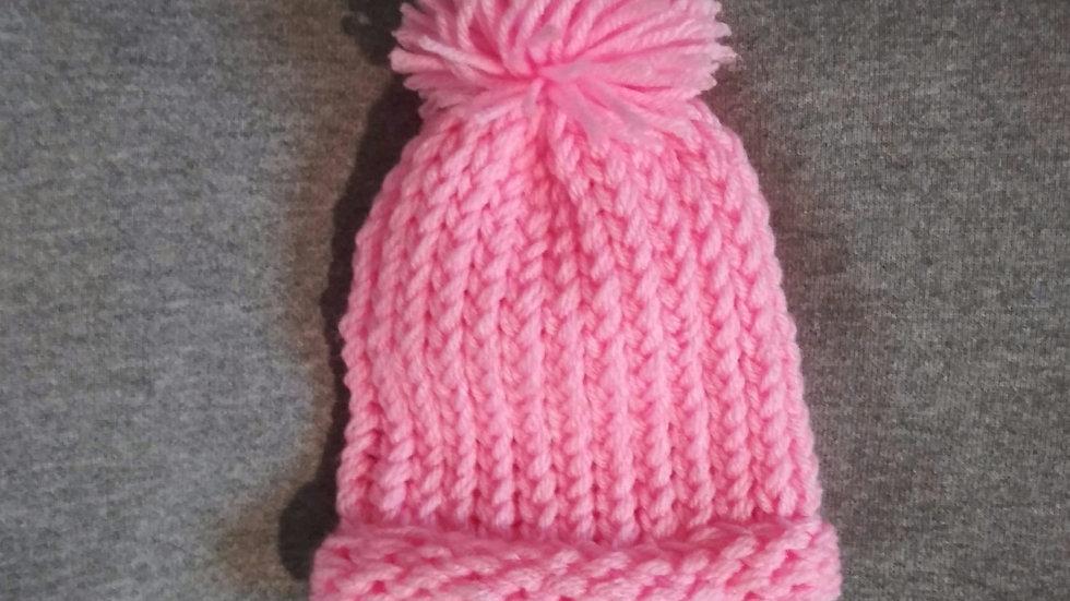 Premie Bubble Pink Warm cap