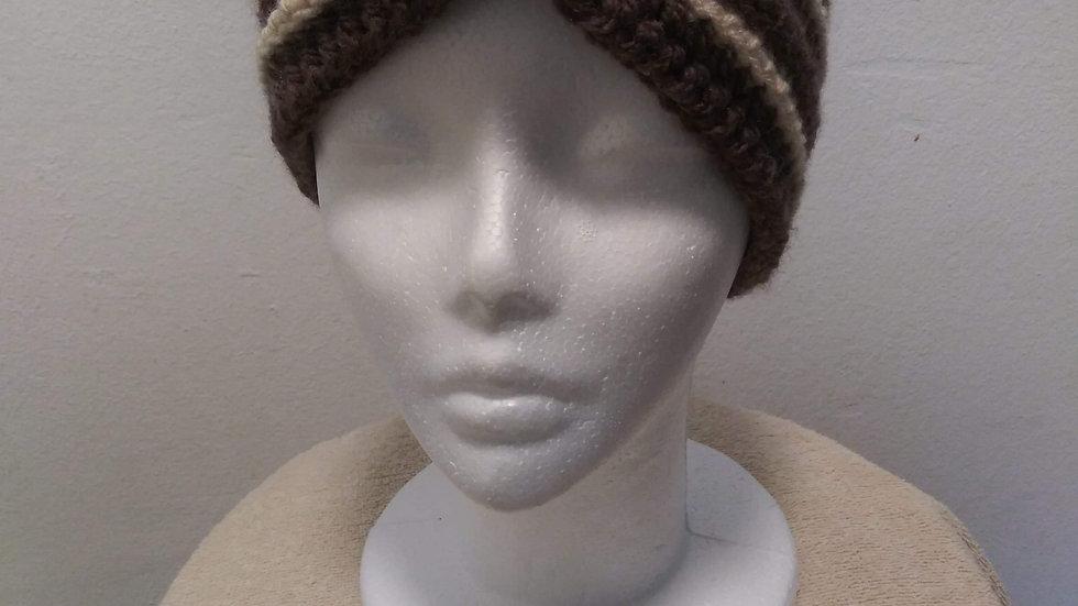 Adult Chocolate Headband Ear Warmer