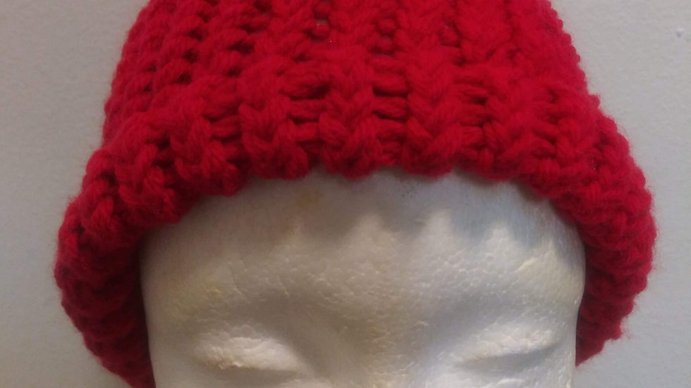 Red adult beanie ❤