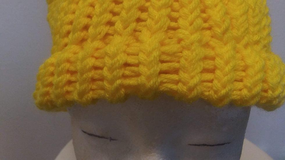 Yellow adult beanie 💛