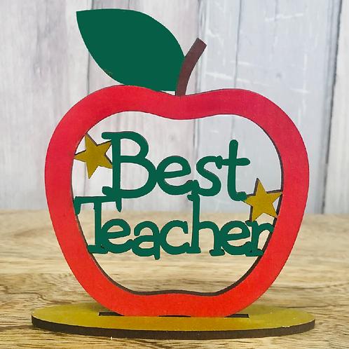 Best Teacher Apple