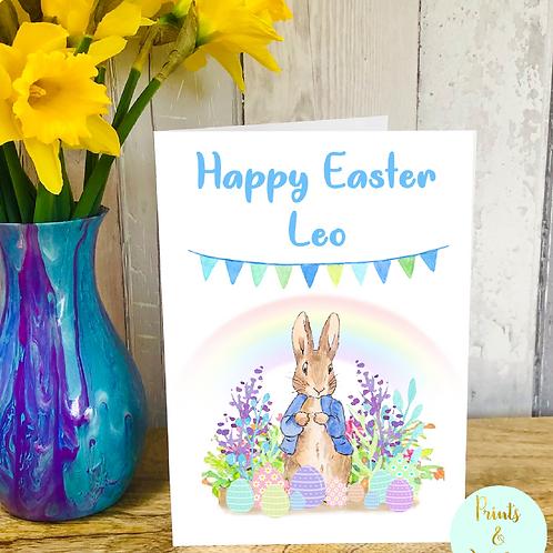 Peter Rabbit Easter Card
