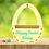 Thumbnail: Personalised Wooden Easter Basket