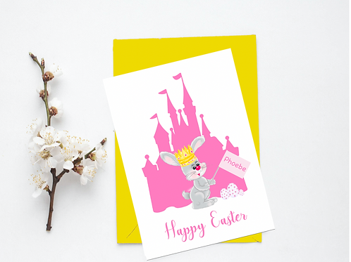 Princess Easter Card