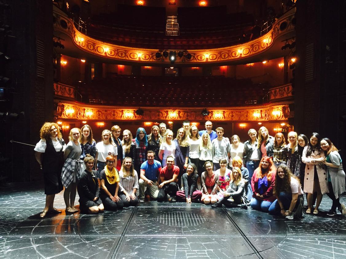 West End backstage tour London