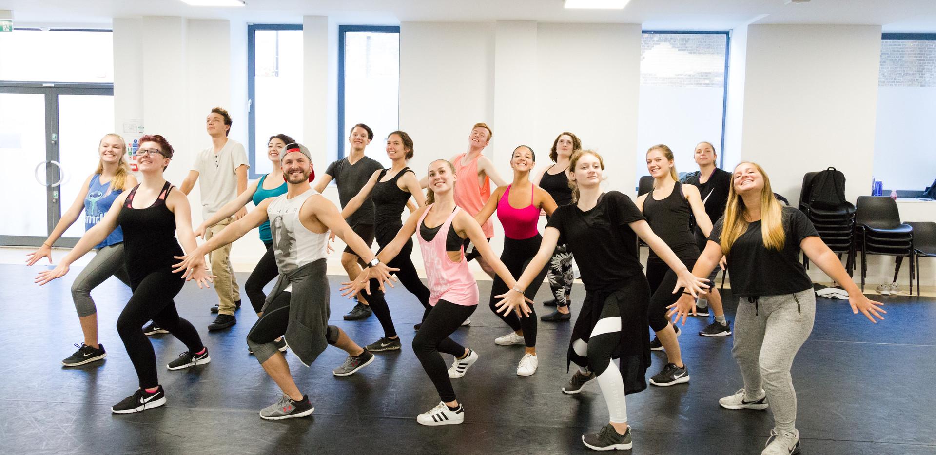 West End Academy Dance Class