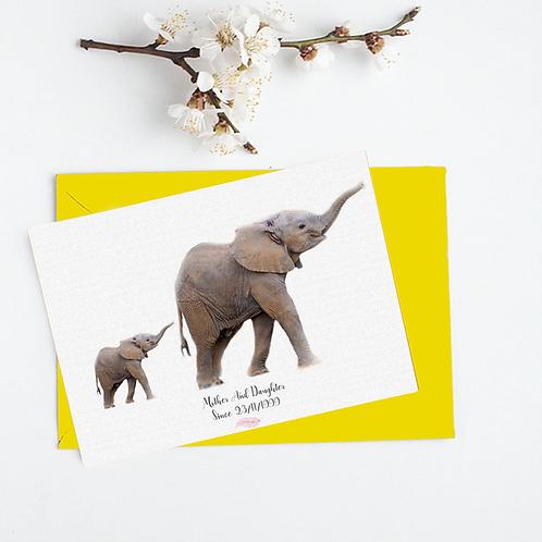 Elephants card