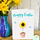 Thumbnail: Happy Easter Sunflower Card