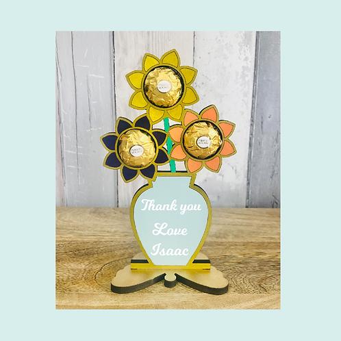 Teacher Gift - Ferrero Flowers