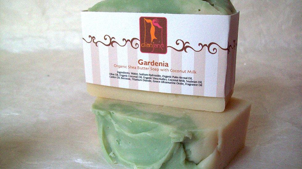 Organic Gardenia Soap with Coconut Milk