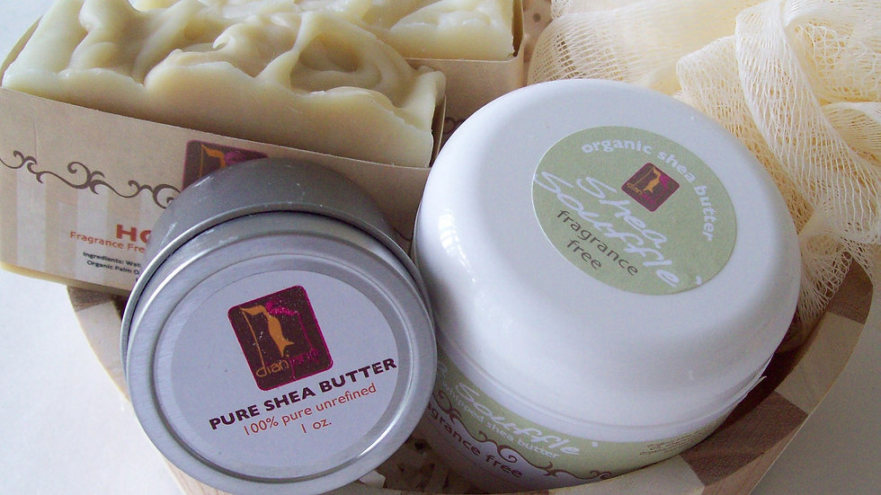 Large Sensitive Skincare Gift with Unscented Soap