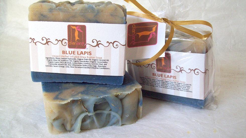 Organic Blue Lapis Shea Butter Soap