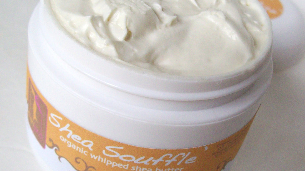 Georgia Peach Organic Shea Souffle' Whipped Body Butter