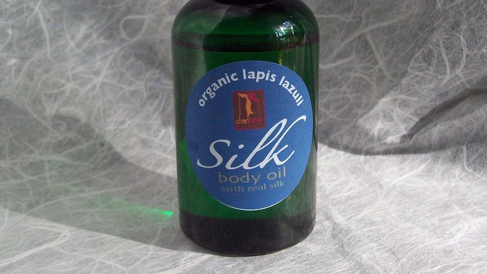 Choose Your Organic Silk Body Oil Fragrances with Silk Amino Acids 2oz