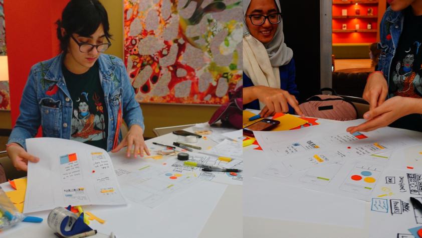 Lo-Fi Paper Prototypes