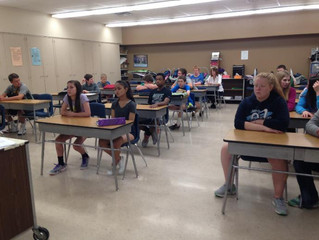 KCRG: Community honors 8th graders with special award