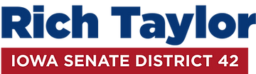 Rich Taylor Iowa Senate District 42