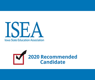 ISEA Recommended Candidate Graphic templ