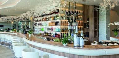 Aperitive bar at Hotel Ivan lobby