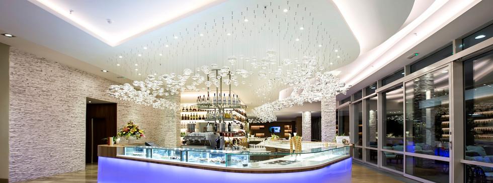 Lobby bar at Hotel Ivan