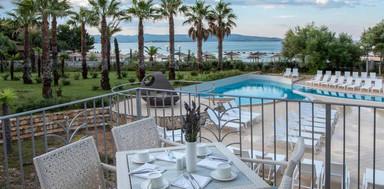 Breakfast terasse at Hotel Ivan
