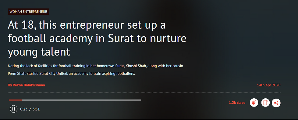 Surat City United in HerStory