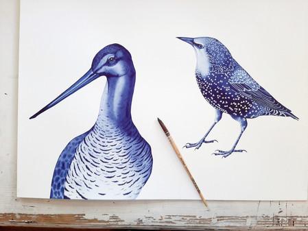 Modern Delfts blauw: De eerste prints zijn een feit!