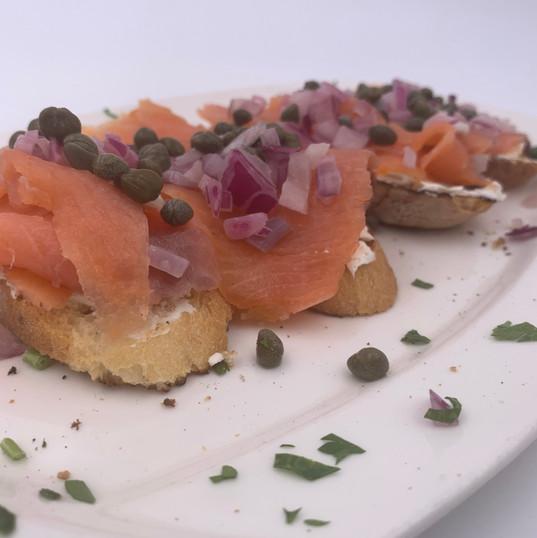 Bruschetta Salmone