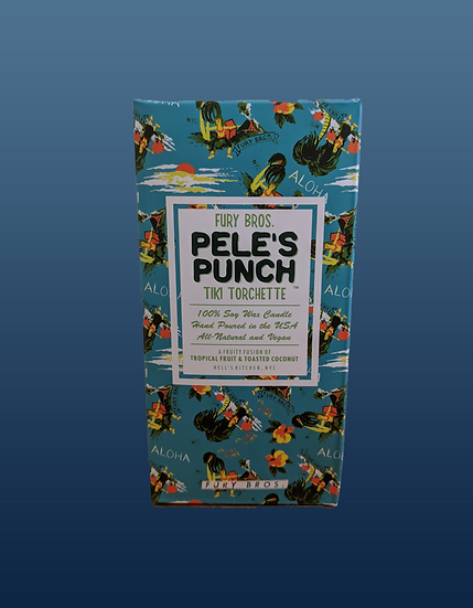 Pele's Punch Tiki  Candle