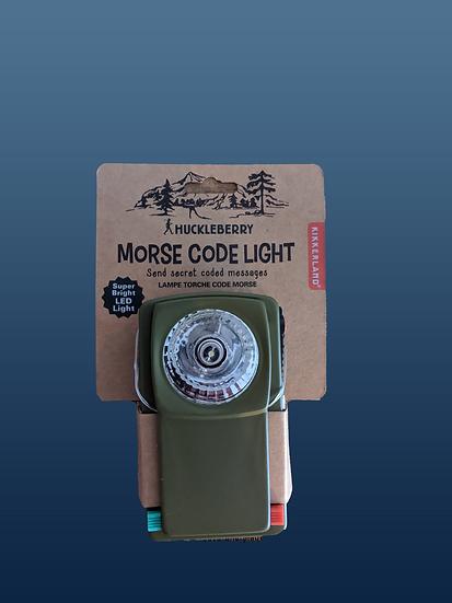Morse Code LED Light